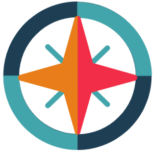 Compass image about our mission and who we are